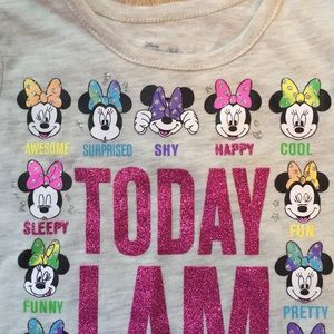 Disney Matching Sets - NWT Minnie Mouse Mood Shirt and NWT Denim jeggings